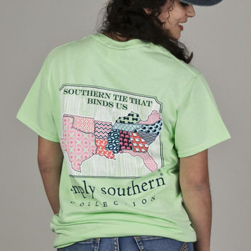 Southern Tie That Binds Us Simply Southern Tee