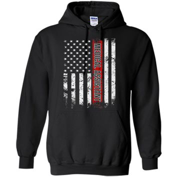 Medical Assistant American Flag T-shirt cool shirt