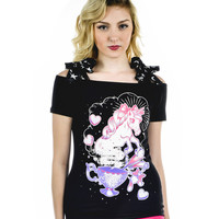 Unicorn Annabel Bow Top