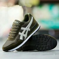 """""""Asics"""" Sport Casual Fashion Retro Multicolor Sneakers Men Running Shoes"""