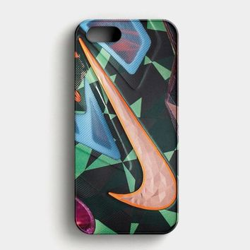 Nike Logo Water Marble Hipster iPhone SE Case