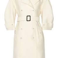 Burberry Prorsum Cotton and silk-blend coat – 63% at THE OUTNET.COM