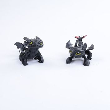 How To Train Your Dragon Toy Action Figures Night Fury Toothless PVC Dragon Children Kids Toys