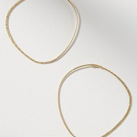 Vienna Oval Hoop Earrings