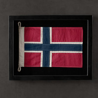 Framed Flag of Norway