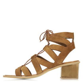 NIFTY Ghillie Mid Sandals - Tan