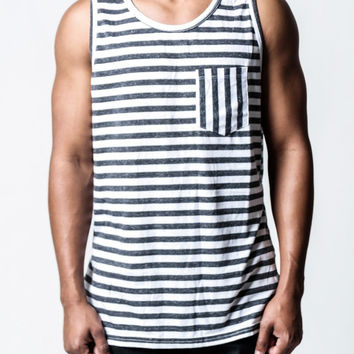 Striped Pocket | Tank Top