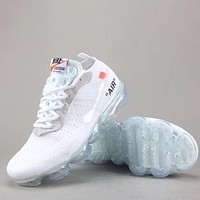 Trendsetter Off White X Nike Air Vapormax Fk  Women Men Fashion Casual  Sneakers Sport Shoes