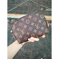 LV Louis Vuitton High Quality Classic Fashion Zipper Toiletry Handbag Cosmetic Bag Purse Wallet