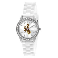 Wyoming Cowboys NCAA Women's Frost Series Watch