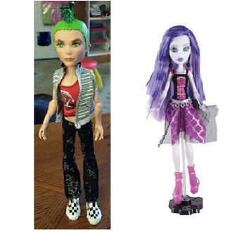 Classic Monster toys Ghoul's Alive doll Deuce Gorgon Spectra Vondergeist Original Doll high quality Toy to Girl