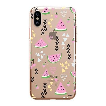 Pink Party - iPhone Clear Case