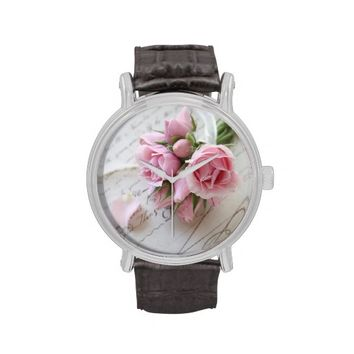 roses on 18th century page watch
