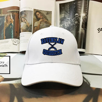 Ravenclaw Quidditch Harry Potter Hogwarts Dad hat - Baseball Cap, Dad Hat Baseball Hat, Low-Profile Baseball Cap Tumblr