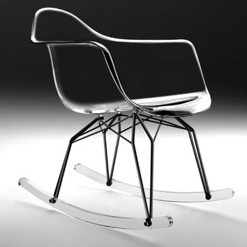 Transparent Diamond Rockchair by Kubikoff