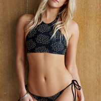 Tori Praver Sabina Strappy Back Cropped Bikini Top at PacSun.com