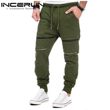 INCERUN S-3XL Men Thick Sweatpants Winter Warm Joggers Fleece Lined Baggy Long Sweat Pants Casual Hip Hop Trousers gyms-clothing