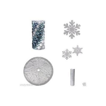 Colonial Christmas Tree Decoration Kit blue