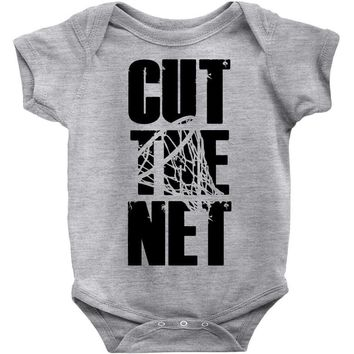 cut the net Baby Bodysuit