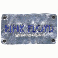 Pink Floyd Men's Embroidered License Patch Metallic
