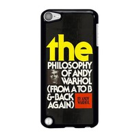 ANDI WARHOL iPod Touch 5 Case Cover