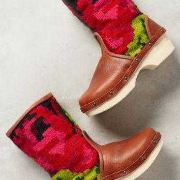 Vintage Carpet Booties