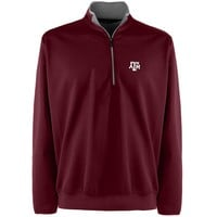 Texas A&M Aggies 1/4-Zip Leader Pullover