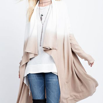 Natural Ombre Cardigan