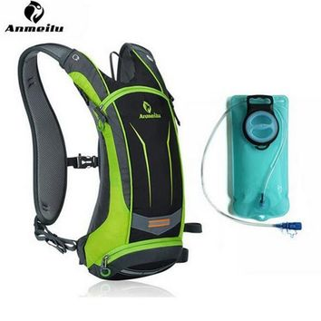 ANMEILU Bicycle Bags 8L Sports Water Bags Bladder MTB Road Bike Bags Pannier Basket Backpacks Men Women Cycling Accessories