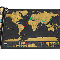 Scratch Map Deluxe Edition