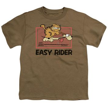 Garfield - Vintage Easy Rider Short Sleeve Youth 18/1