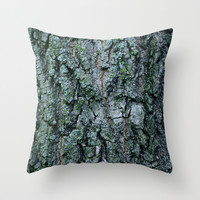 Tree Throw Pillow by Eric Dufresne