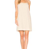 Elizabeth and James Mariella A Line Dress in Creme | REVOLVE