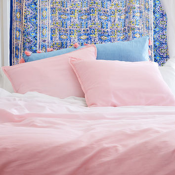 Dormify Ombre Queen Duvet Set, Rose
