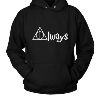 Always Deathly Hallows Harry Potter Hoodie Two Sided