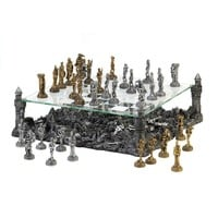 Stunning Warrior Chess Set