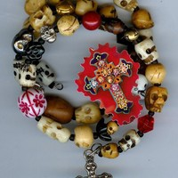 Day of the Dead Skulls Bracelet