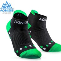 AONIJIE Professional Men Women Sport Running Sock Quick Dry Climbing Gym Fitness Running Hiking Cycling Massage Socks