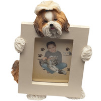 Shih Tzu Holding Frame Small Picture Frame