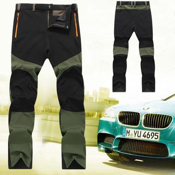 HIRIGIN New Arrivals 2017 Unique Men's Outwear Sportswear Snowboard Pants Waterproof Trousers Thin