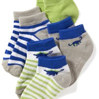 Ankle Socks 4-Pack for Toddler & Baby|old-navy