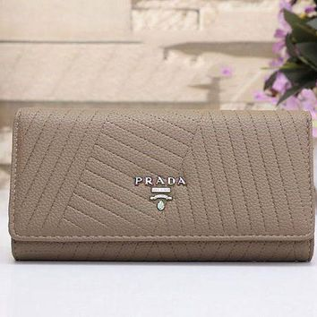 PEAPUF3 CHANEL Women Fashion Leather Buckle Wallet Purse G-MYJSY-BB
