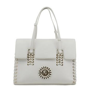 Versace Jeans White Purse