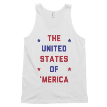 The United States of 'Merica Tank