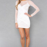 The Trust Fund Dress in White : style stalker : Karmaloop.com - Global Concrete Culture