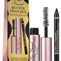 Too Faced Better Than Sex Amazing Eyes Set: Mascara & black eyeliner