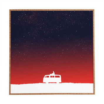 Budi Kwan Quiet Night And Starry Sky Framed Wall Art