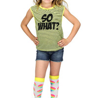 Dirtee Hollywood So What Muscle Tee | Mod Angel