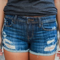 Cancun Denim Shorts
