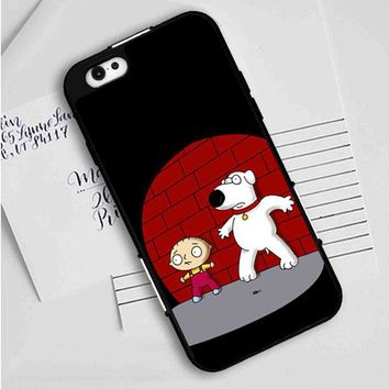 Family Guy Stewie Scary iPhone Case